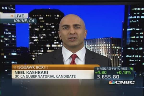 Kashkari's California quest