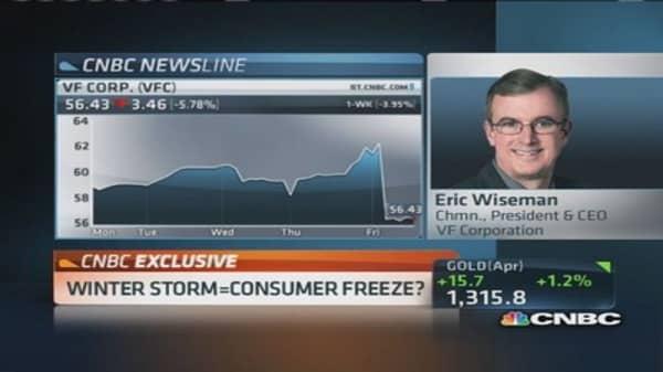 VF Corp. CEO: Grew revenues 8% in Q3