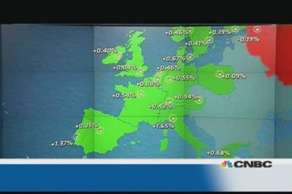 Europe shares close higher; Italy leads the charge
