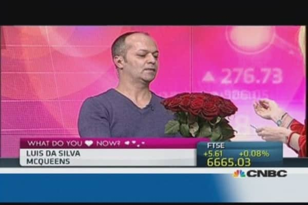 Red roses blooming on Valentine's Day at CNBC