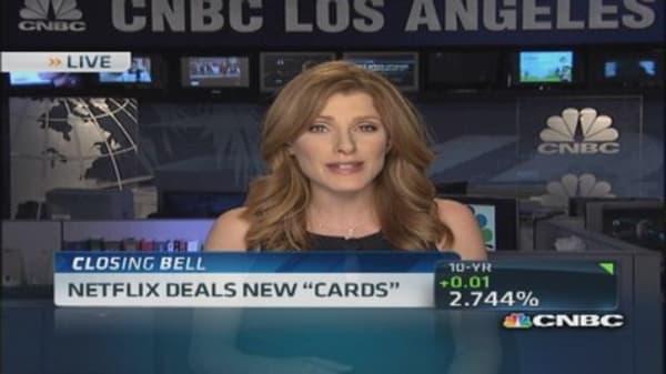 Netflix deals new 'Cards'