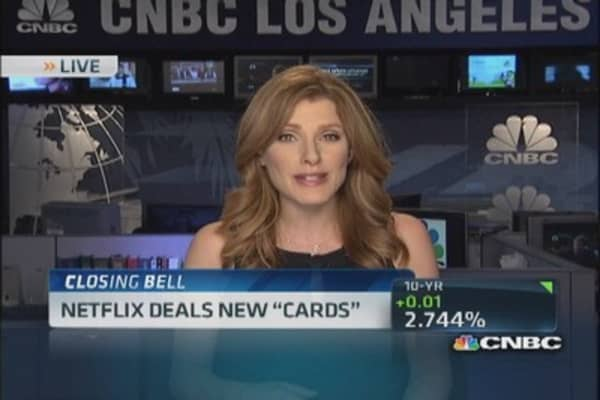 Netflix deals new 'Cards'
