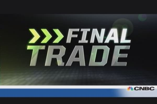 Fast Money Final Trade: MPEL, VLO, HP, RAX, DMND