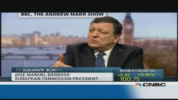 Hard for breakaway states to join EU: Barroso