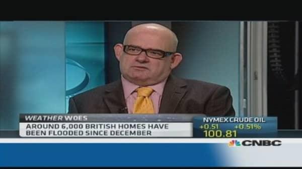 The economic impact of the UK floods