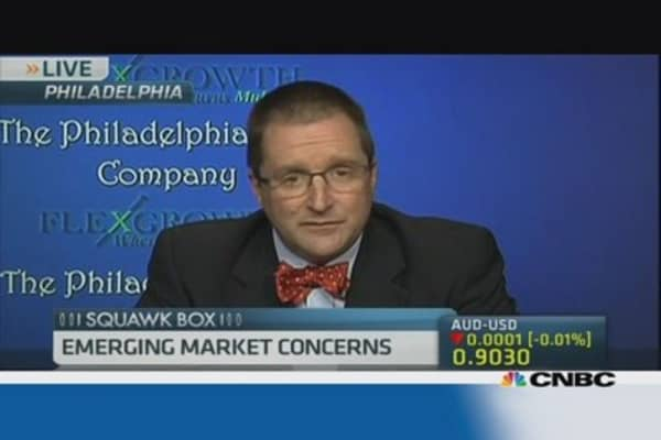 Still concerned about emerging markets: Pro