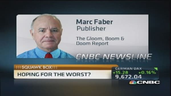 Marc Faber: Still early to commit to emerging markets