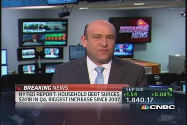 Borrowing is back: Huge increases in debt