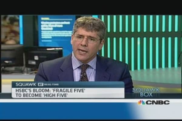 'Fragile five' to become 'high five': Pro