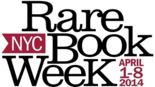 Rare Book Week 2014 logo
