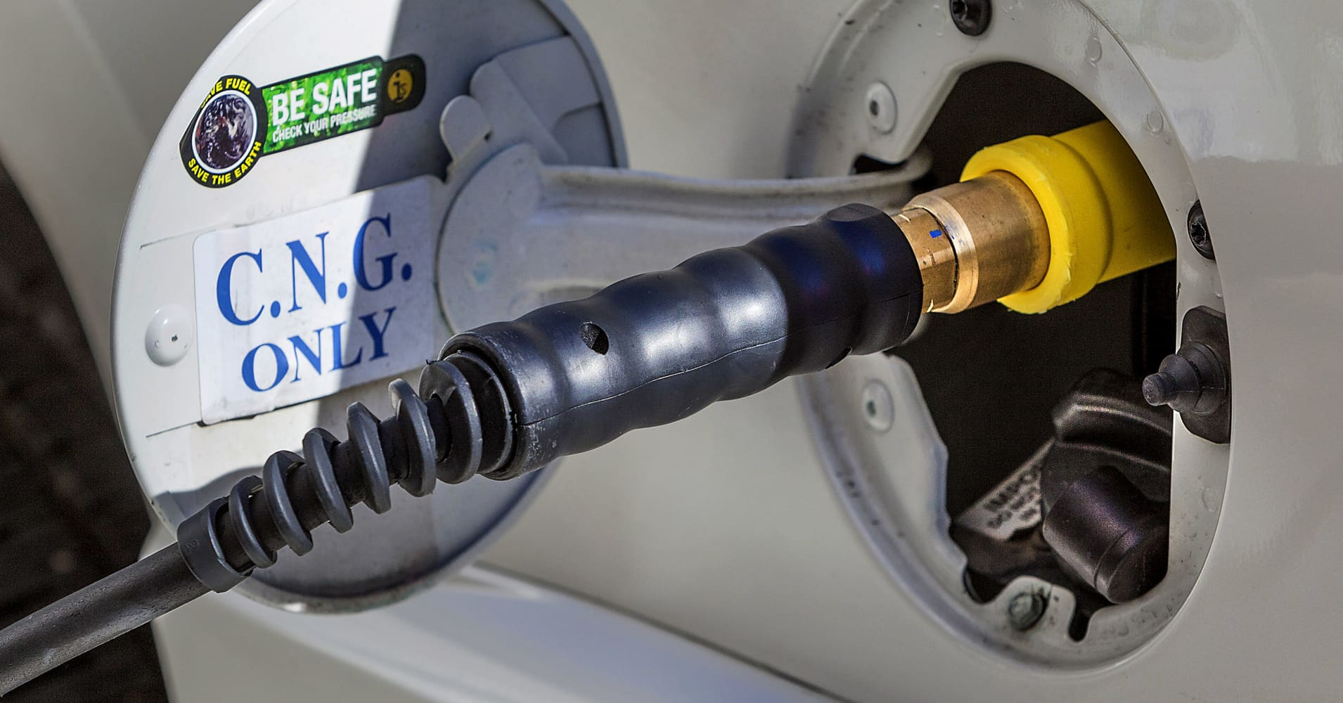 Compressed natural gas may not be as environmentally ...