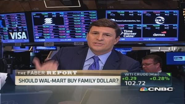 Credit Suisse: Wal-Mart should acquire Family Dollar