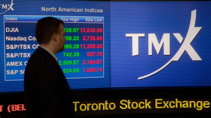 All trading on the toronto stock exchange is down tmx group says publicscrutiny Choice Image
