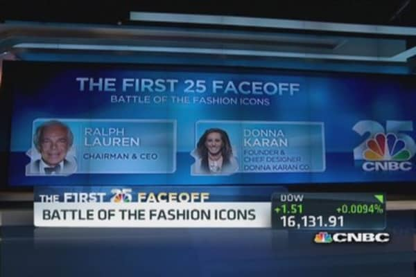 CNBC top 25: Ralph Lauren vs. Donna Karan