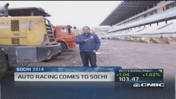 Formula 1 returning to Russia