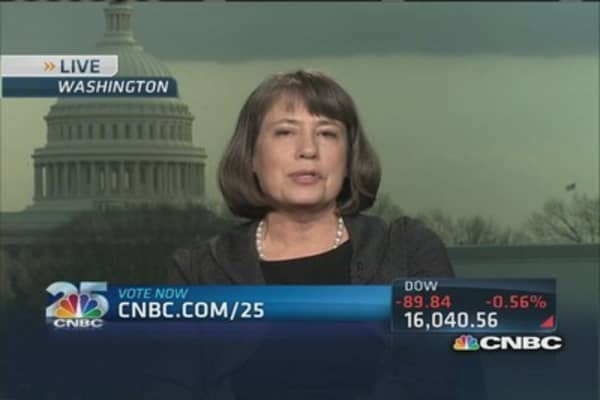 Sheila Bair: Warren Buffett for CNBC's Top 25