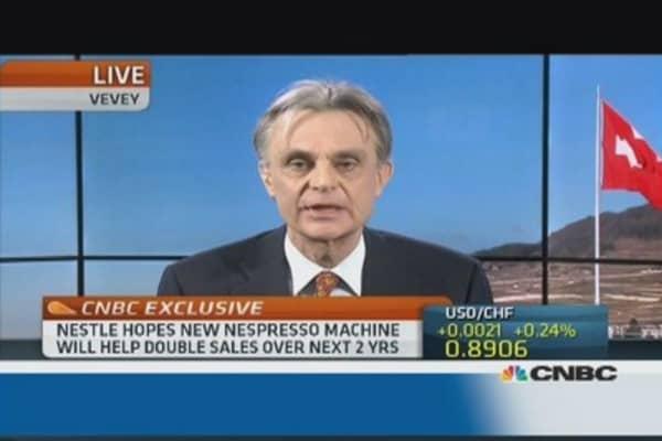 Nespresso creating a new market: CEO