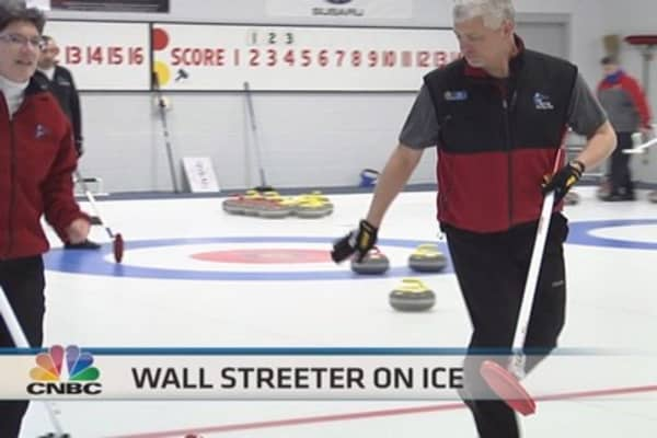Wall Streeter on ice