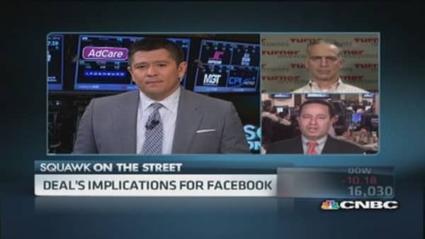 Facebook deal hinges on user engagement: Pro