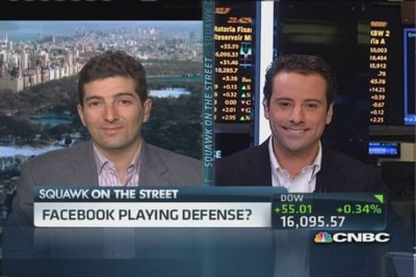 Evaluating Facebook's staggering deal