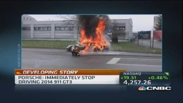 Porsche: Immediately stop driving 2014 911 GT3