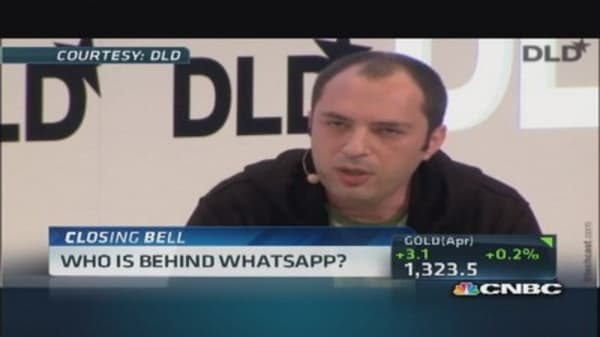 WhatsApp's new billionaires