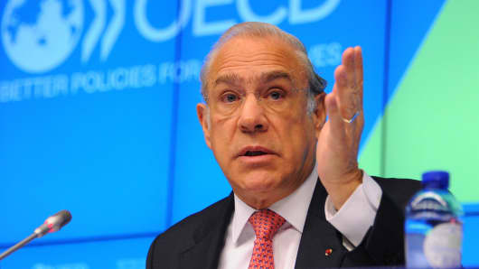 OECD Secretary-General Angel Gurria.
