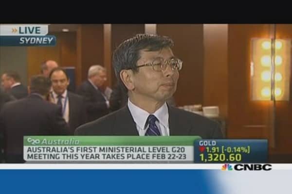 ADB: G-20 to focus on global growth