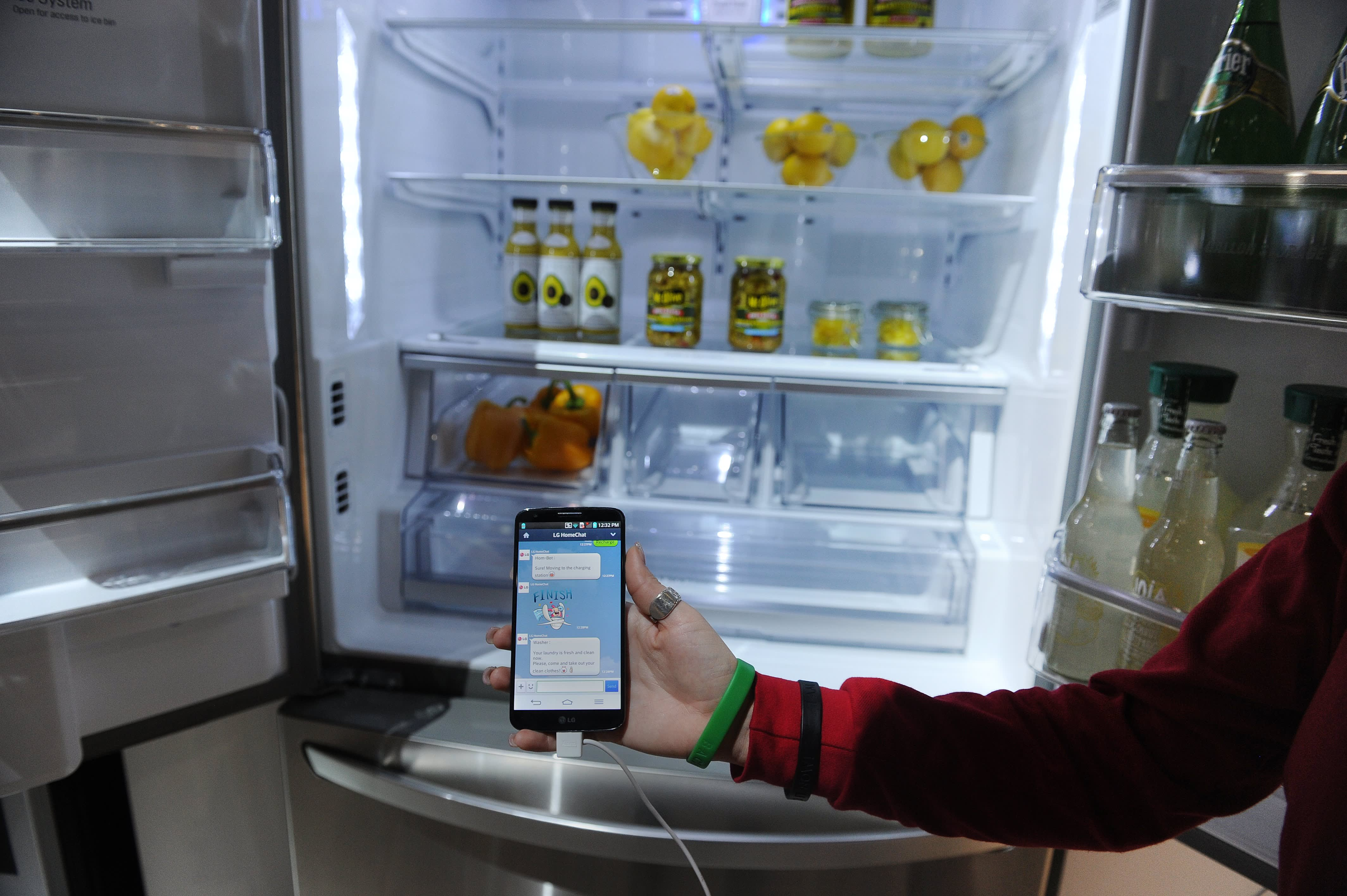 Can your fridge be hacked in the \'internet of things\'?