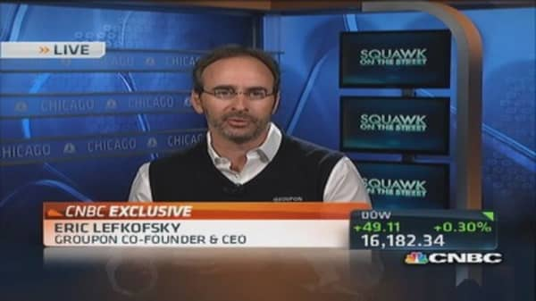Groupon CEO: Leader in local commerce by far