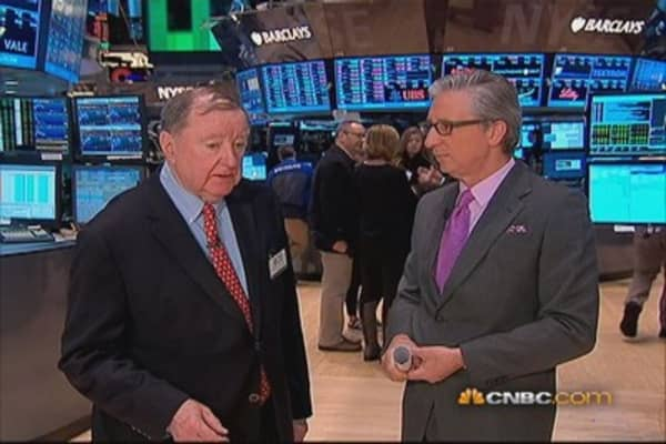 Cashin says: 'Stampede buying' or 'severe pullback'