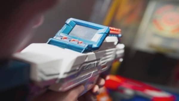 The Nerf Cam Blaster
