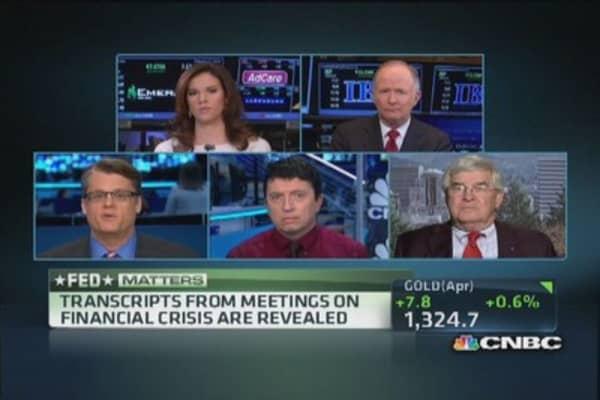 Fed 2008 transcripts revealed