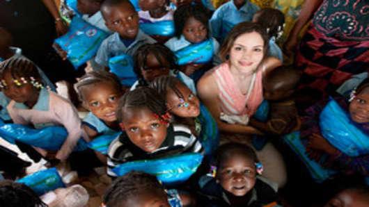 Katharine Mcphee in Burkina Faso