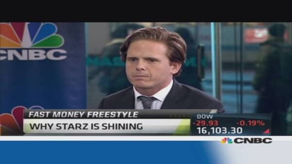 Starz could be HBO: Jannarone