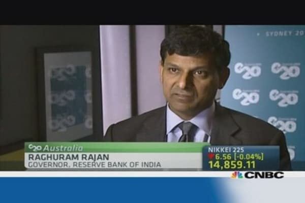 RBI governor: 'EMs are on their own'