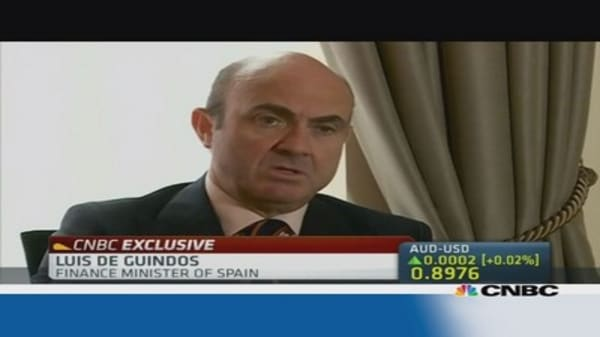 Spain Fin Min: We cannot be complacent