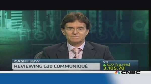 G20: Focus on pro-growth policies not stimulus