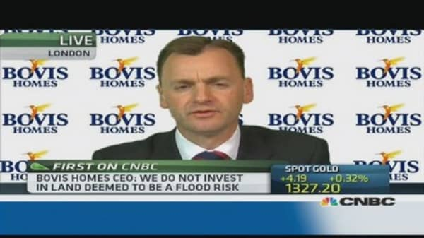 We buy land all the time: Bovis Homes CEO