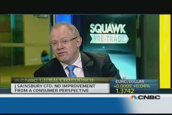 Consumers continuing to 'tighten belt': Sainsbury CFO
