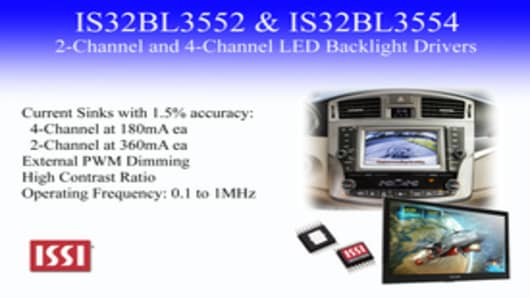 IS32BL3552 & IS32BL3554