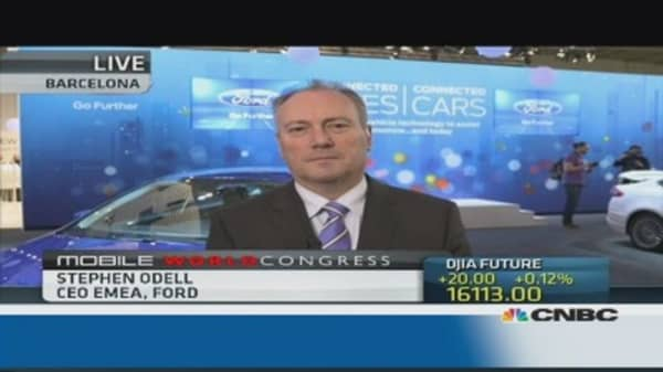 Ford is 'democratizing' technology: EMEA CEO