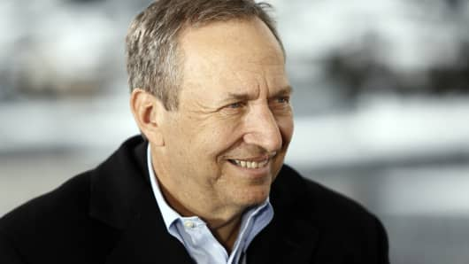 Lawrence 'Larry' Summers, former U.S. treasury secretary.
