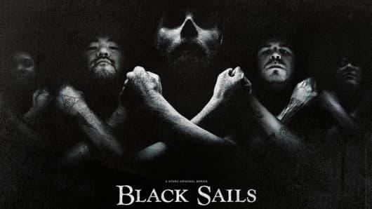 Black Sails television series on Starz Network.