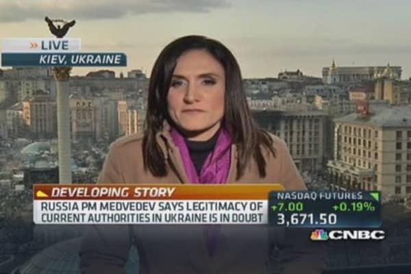 Ukraine's financial crisis