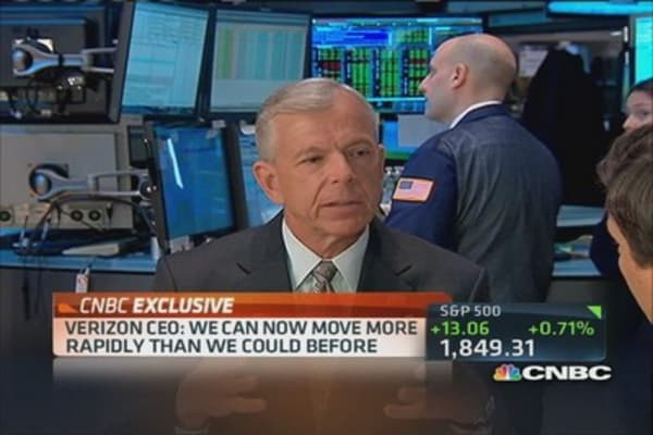 Verizon CEO: Vodofone deal gives us 'speed'