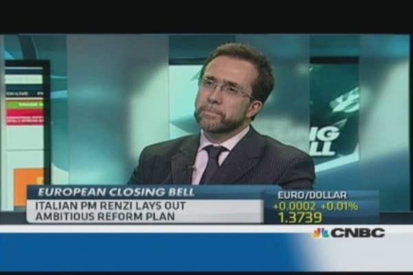 Renzi has brought 'big sea change': Pro