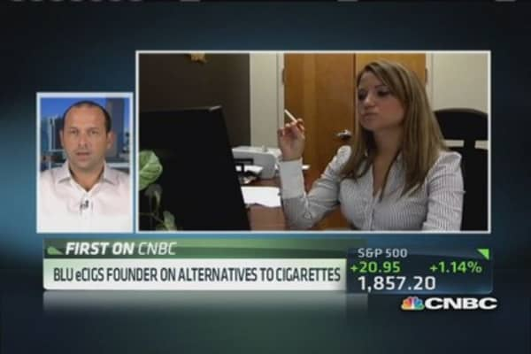 Tremendous potential to eliminate tobacco: Blu eCigs Founder