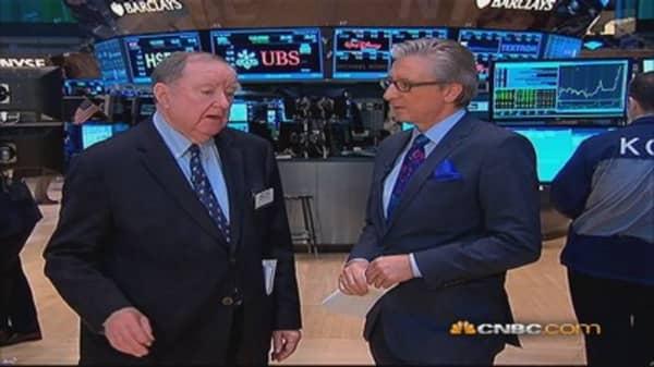 Cashin says market's melt-up no stampede