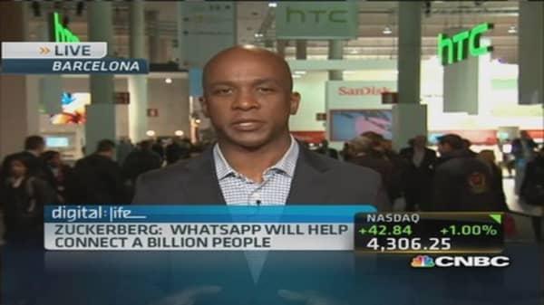 Zuckerberg: WhatsApp could reach 1 billion people